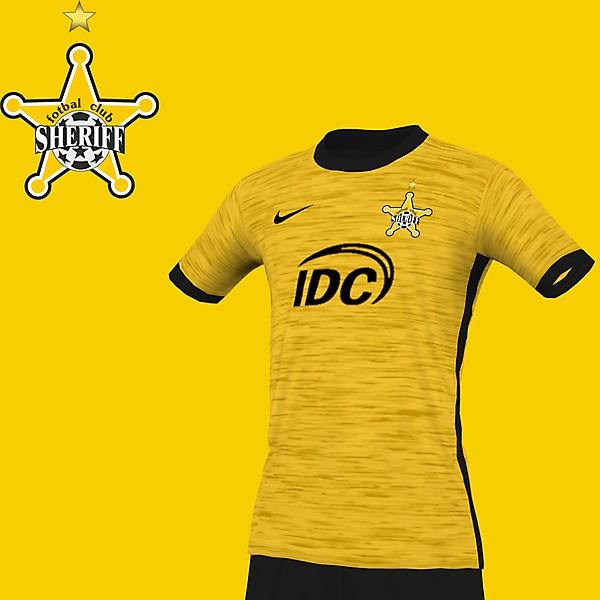 Fotbal Club Sheriff simple Design