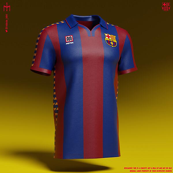 Futbol Club Barcelona X Meyba | Home kit | KOTW