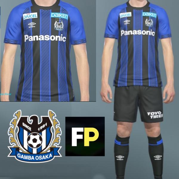 Gamba Osaka Home kit 18-19 by @feliplayzz