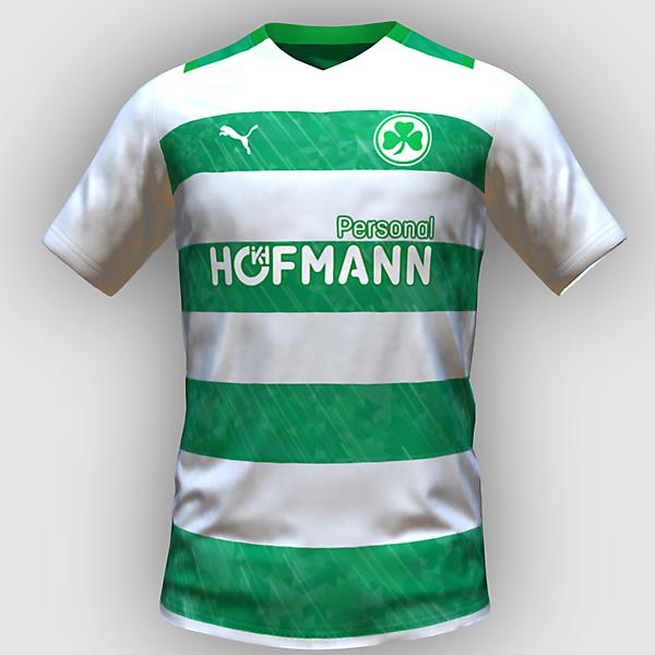 Greuther Fürth home kit by feliplayz