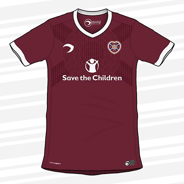 Heart of Midlothian | Home Shirt