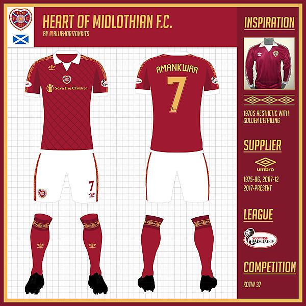 Heart of Midlothian F.C. Home Kit