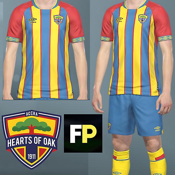 Hearts of Oak home kit by @Feliplayz