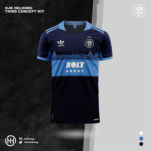 HJK Helsinki | Concept 3rd kit