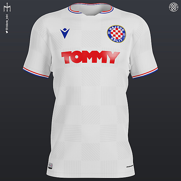 HNK Hajduk Split X Macron | Home kit | KOTW