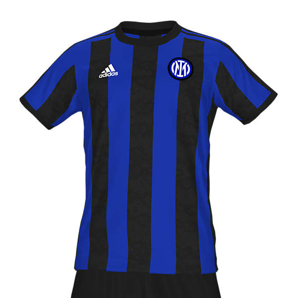 Inter Milan adidas home kit by @feliplayzz