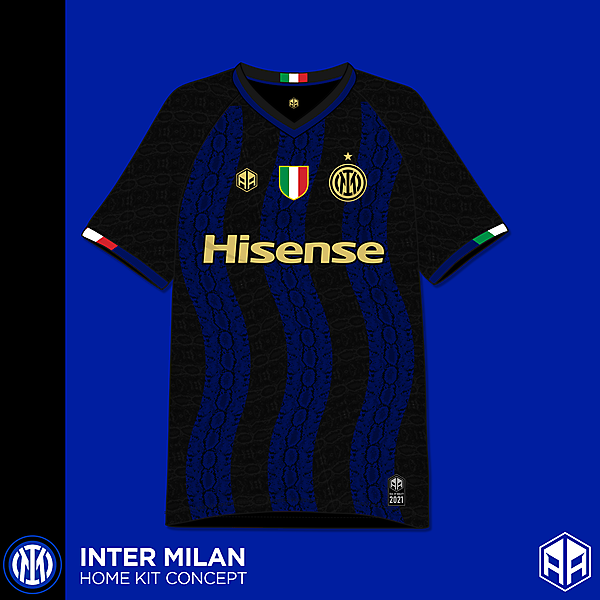 Inter Milan home kit concept