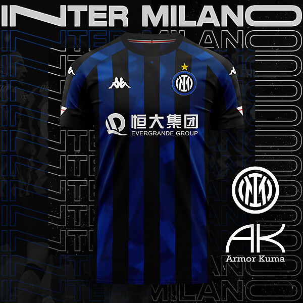 Inter Milano Kappa Home Kit