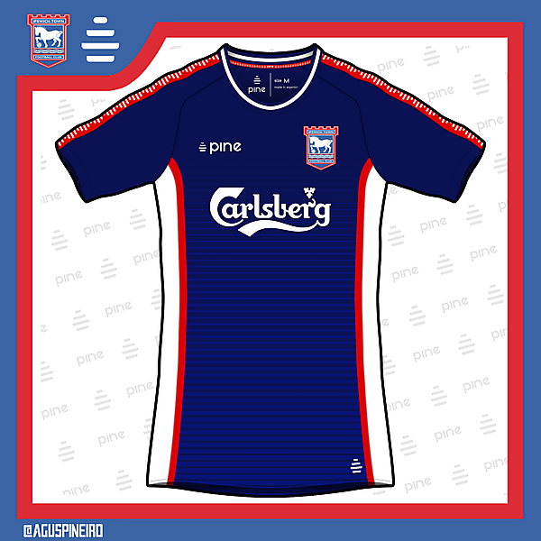 Ipswich Town Home Kit by Pine