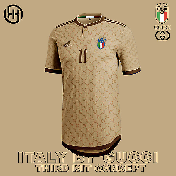 Italy by Gucci | Third kit concept