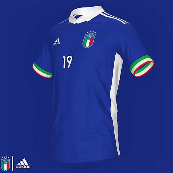 Italy NT Home Shirt | KOTW 197