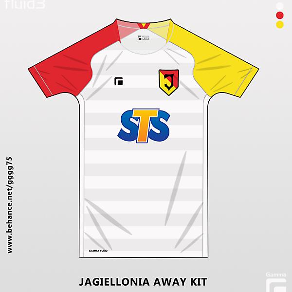 jagiellonia away kit