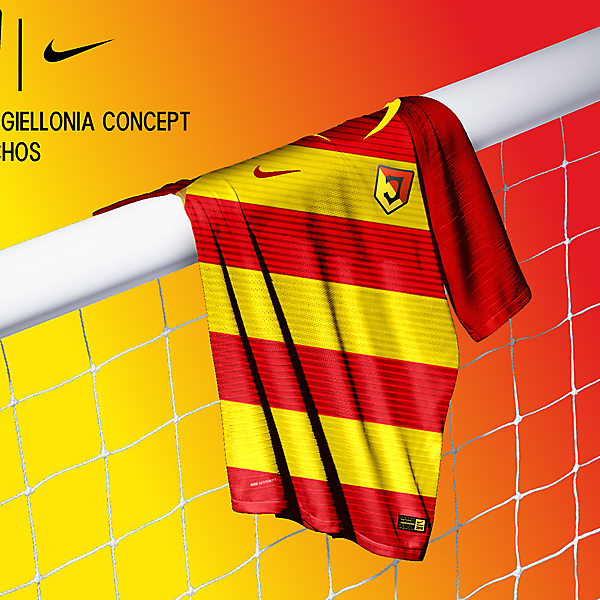 Jagiellonia Errea Nike Concept Kit by Nachos KOTW