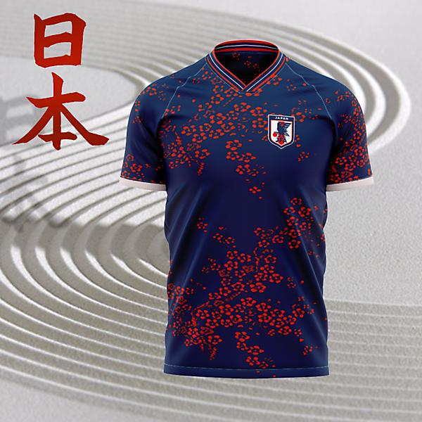 Japan Home Jersey