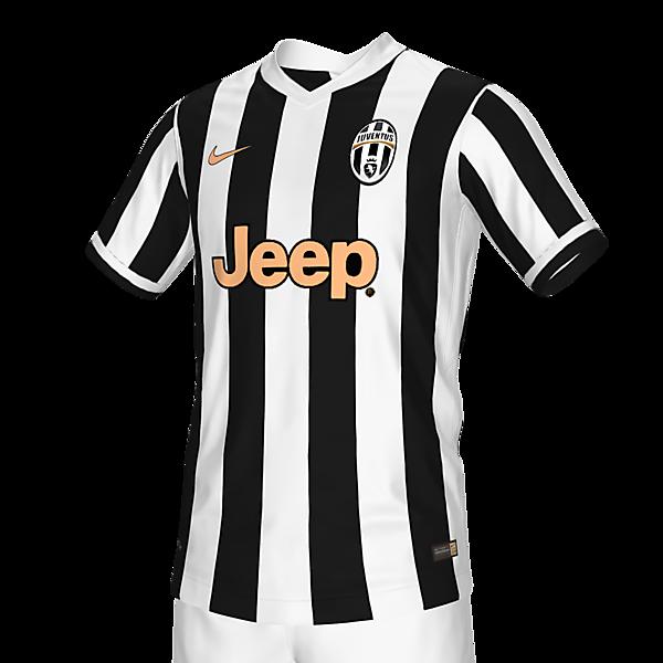 Juventus 21 home x Nike