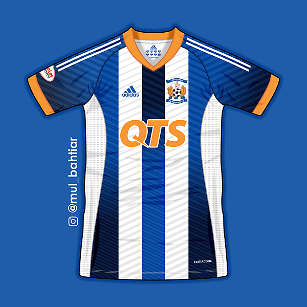 Klimarnock FC Adidas Home Jersey Concept