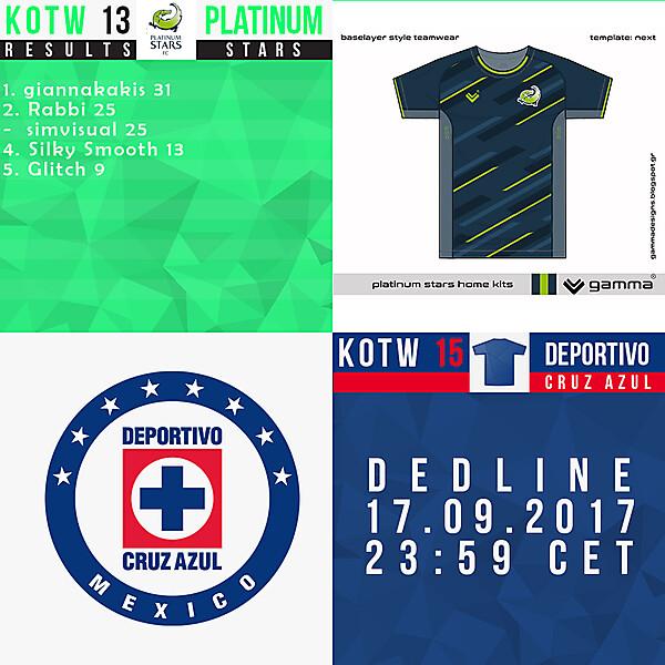 KOTW13/KOTW15