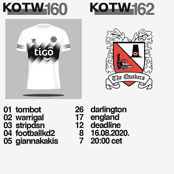 KOTW160 / KOTW162