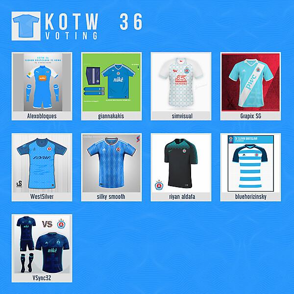 KOTW36 - VOTING