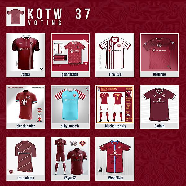 KOTW37 - VOTING