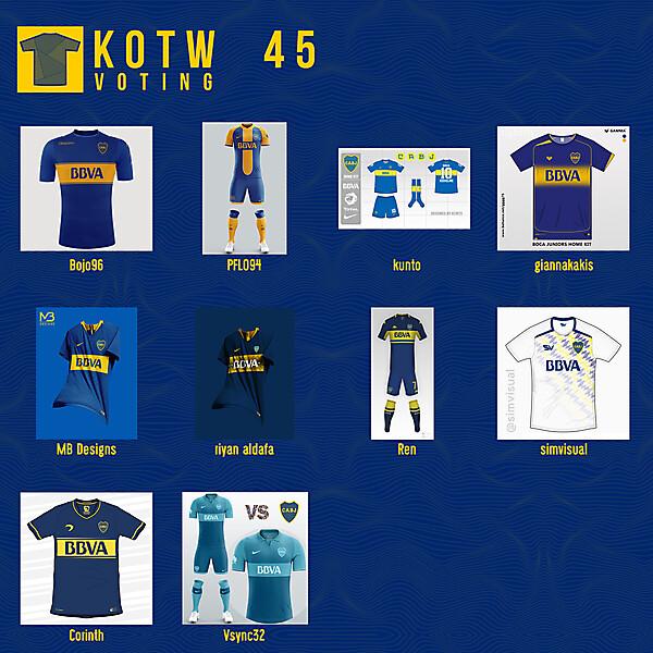 KOTW45 - VOTING