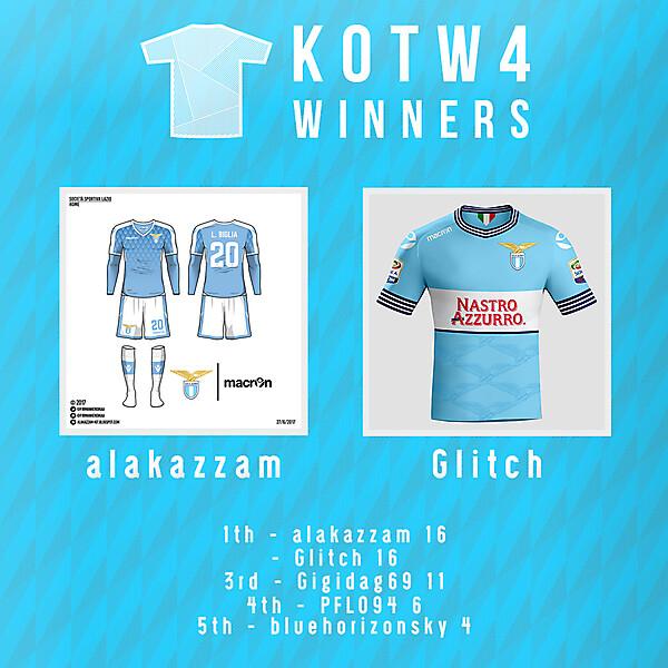 KOTW4 - winners