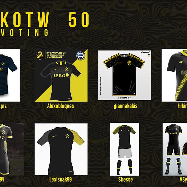 KOTW50 - VOTING