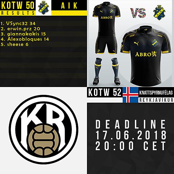 KOTW50/KOTW52