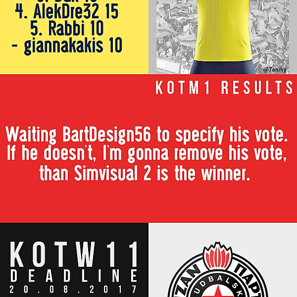 KOTW9 winner/KOTW11