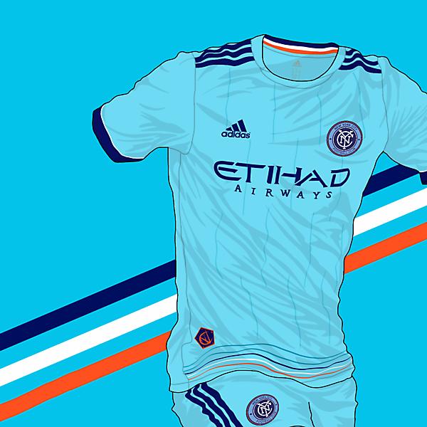 KOTW - New York City FC Home Kit