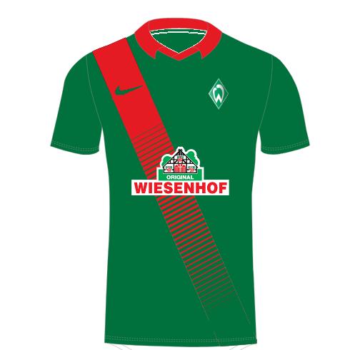 KOTW 2 - Werder Bremen home kit (Nike)