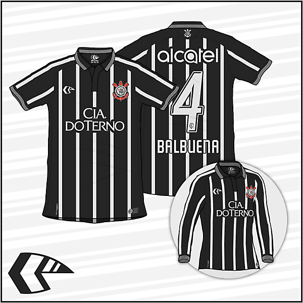 KOTW   Corinthians Paulista - Away Kit