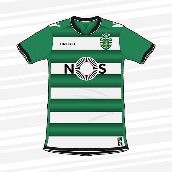 KOTW   Sporting CP Home Shirt