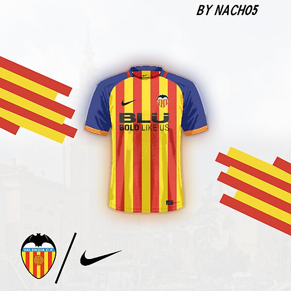 KOTW Valencia Home Shirt by NACH05
