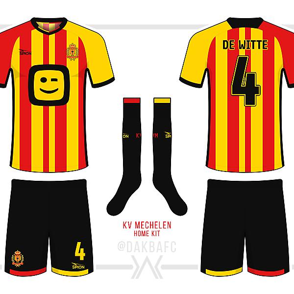 KV Mechelen Home Kit - KOTW 12