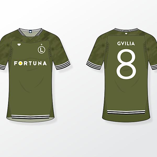 Legia Warsaw [away shirt]