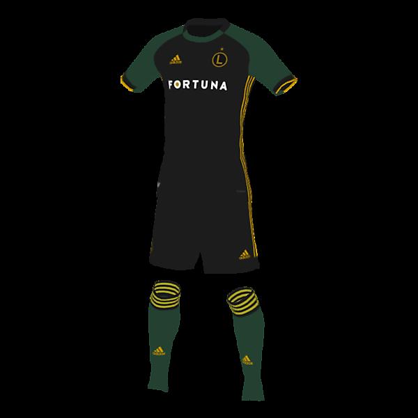 Legia Warsaw away shirt