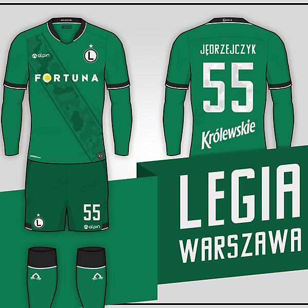 Legia Warszawa // Away kit