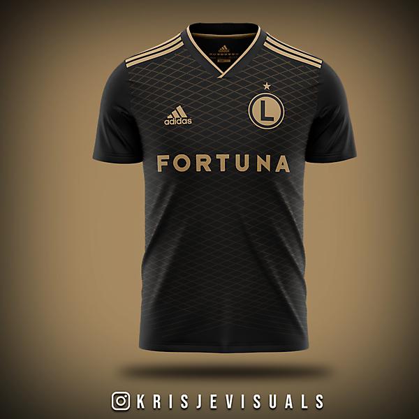 Legia Warszawa Third