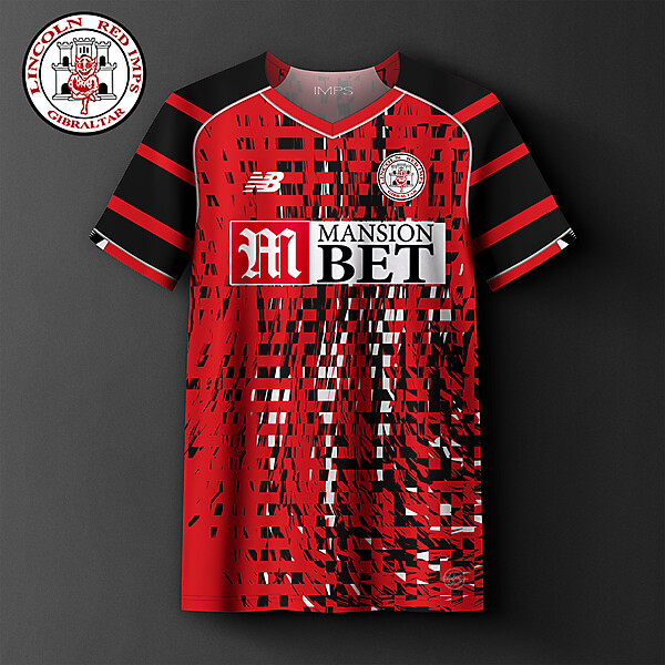 Lincoln Red Imps Gibraltar home concept