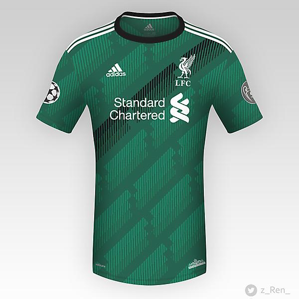 Liverpool FC Third  - Adidas