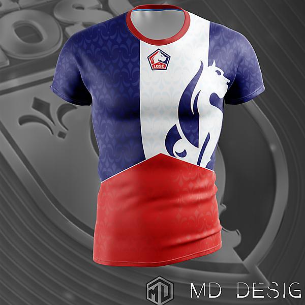 LOSC 1st shirt