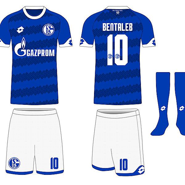 Lotto Schalke 04 Home Shirt