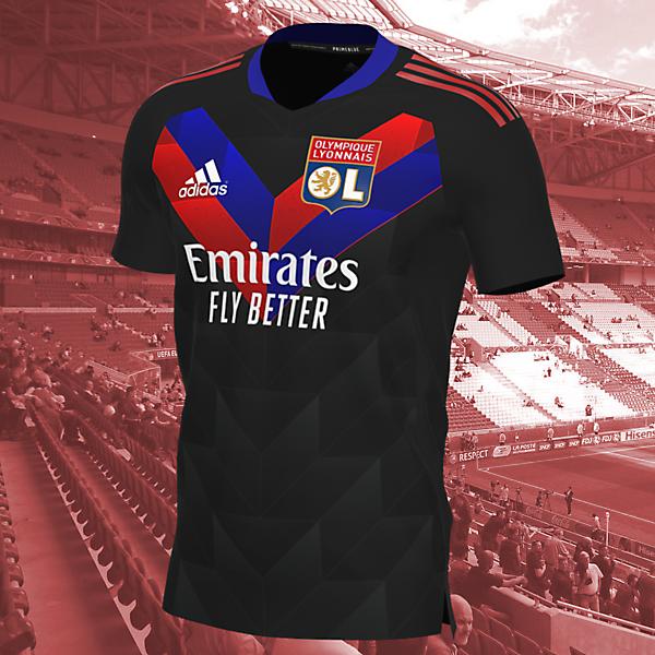 Lyon Away Shirt