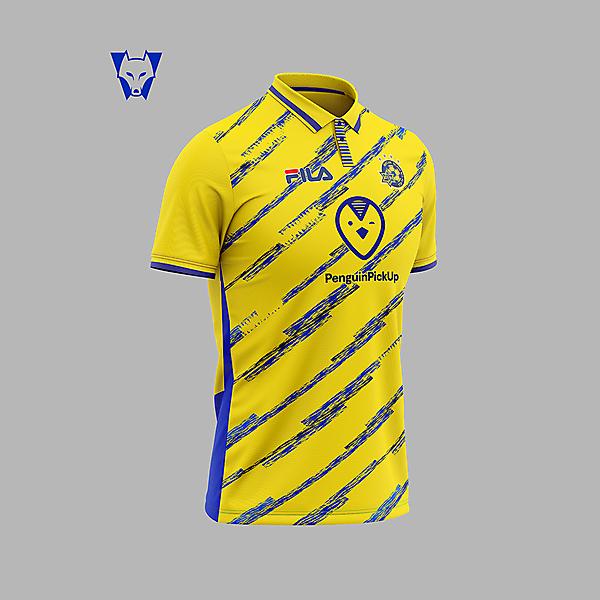 Maccabi Tel-Aviv - home shirt