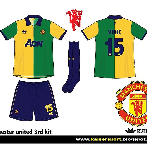 Man United 3rd kit