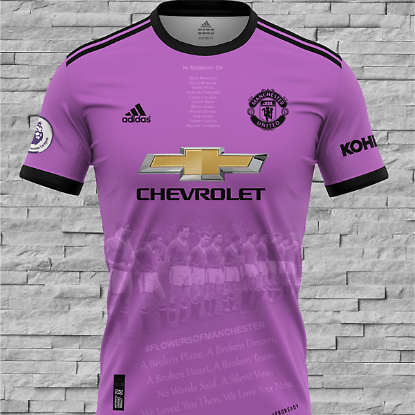 Manchester United - Flowers of Manchester Away Kit