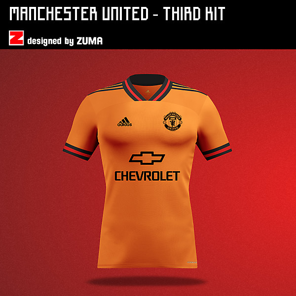 Manchester United | Adidas Third Kit