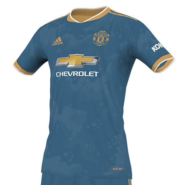 Manchester United Blue Steel/Rose Gold Kit