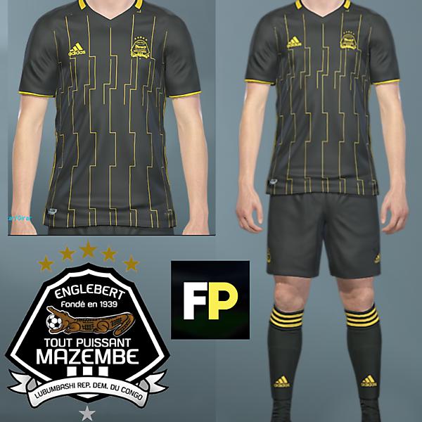Mazembe Away kit by @feliplayzz